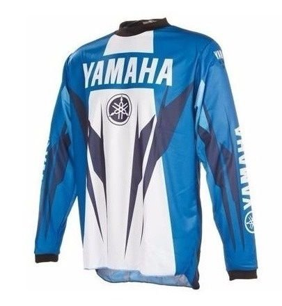 CAMISA MOTOCROSS TRILHA ORIGINAL YAMAHA TAM GG