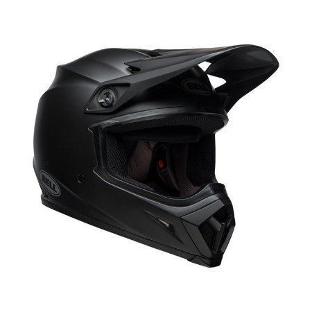 CAPACETE BELL MOTOCROSS MX 9 MIPS SOLID MATTE PRETO TAM 60