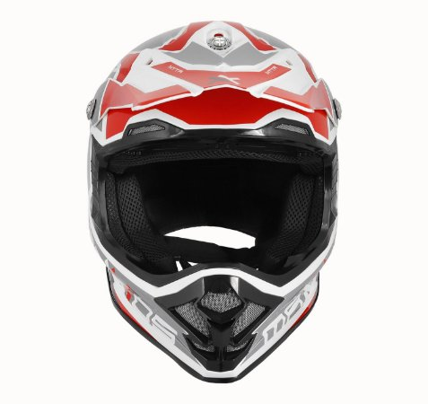 CAPACETE MOTOCROSS MATTOS RACING MX PRO MTTR VERMELHO TAM 60