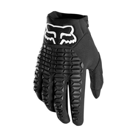LUVA FOX MOTOCROSS TRILHA OFF ROAD MX LEGION PRETA TAM G