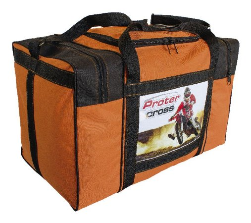Bolsa Equipamentos Motocross Trilha Protercapas laranja