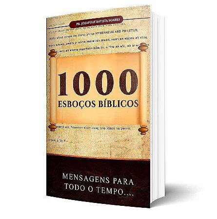 Livro 1000 Esboços para Sermões Bíblicos