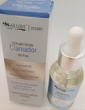 Serum Facial Clareador_Max Love