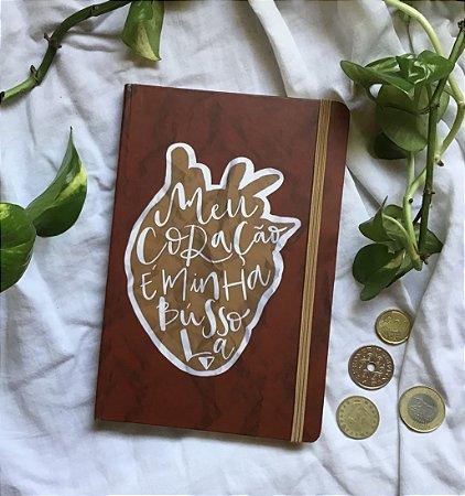 Caderneta Meu Coração Minha Bússola