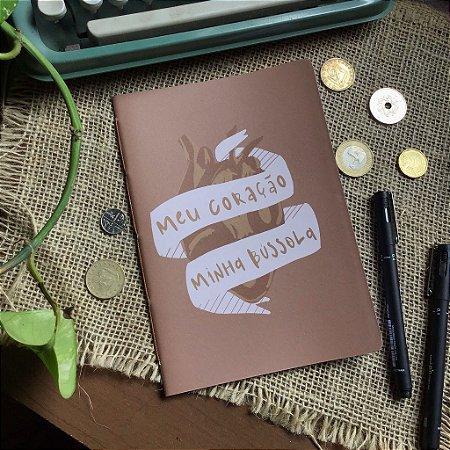 Caderno pontilhado Meu coração 1