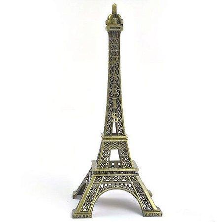Enfeite de mesa Torre Eiffel Paris - 13 cm