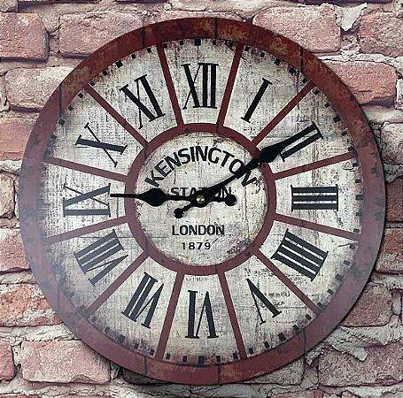 Relógio de Parede London Kensington Station