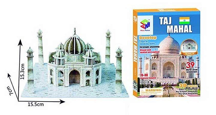 Quebra-cabeça 3d Taj Mahal - Índia