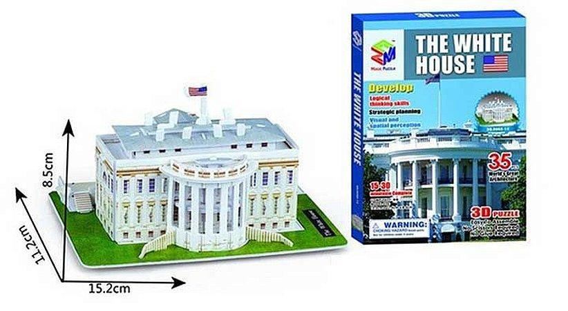 Quebra-cabeça 3d Casa Branca - USA