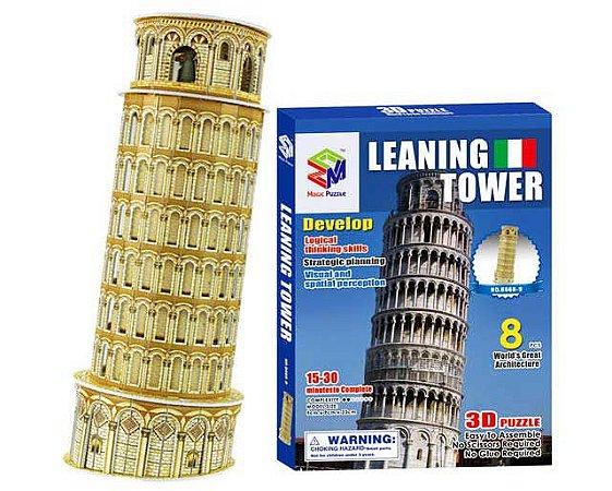 Quebra-cabeça 3d Torre de Pisa - Itália