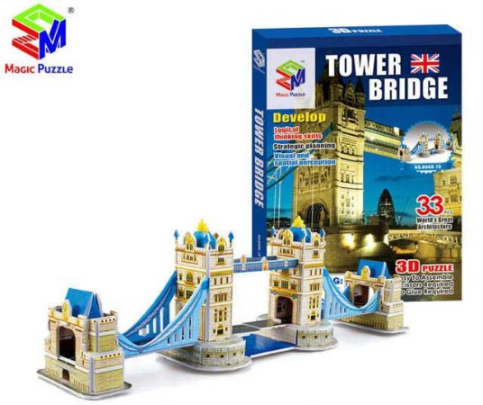 Quebra-cabeça 3d Tower Bridge - Londres