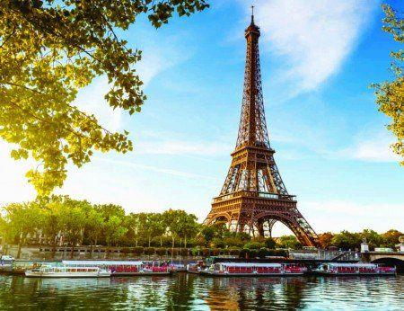 Placa Decorativa em MDF - Torre Eiffel Paris 30x40cm