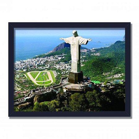 Quadro Decorativo Cristo Redentor - Rio de Janeiro