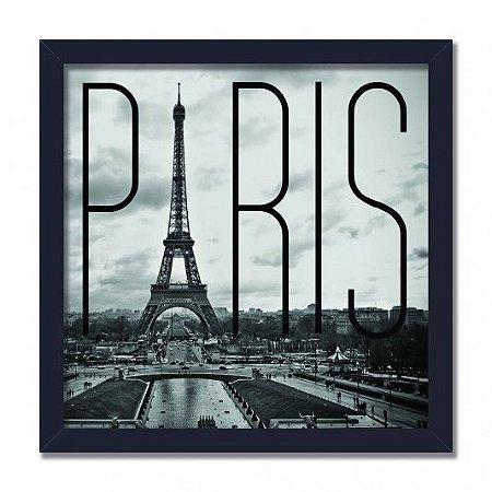 Quadro Decorativo Paris 40x40cm
