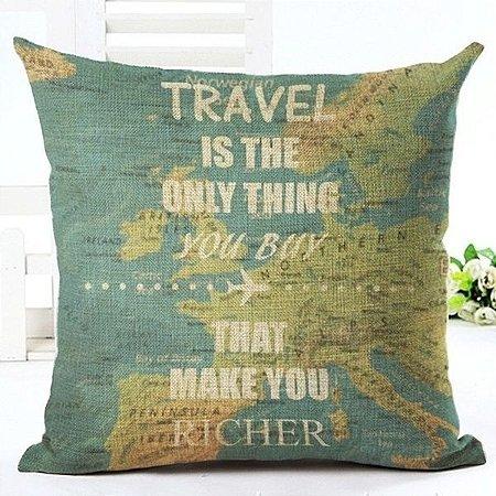 Capa de almofada Travel