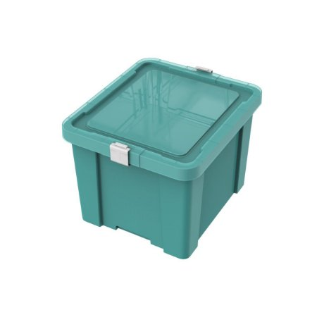 Caixa Organizadora 30L Laundry Verde Claro Tramontina 92551021