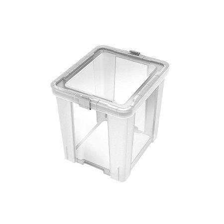 Caixa Organizadora 42L Office Transparente Tramontina 92552011