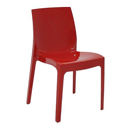 Cadeira Polida Alice Vermelho Tramontina 92037040