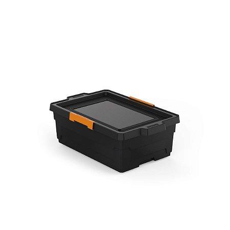 Caixa Organizadora 40L Preto Tramontina 92553009