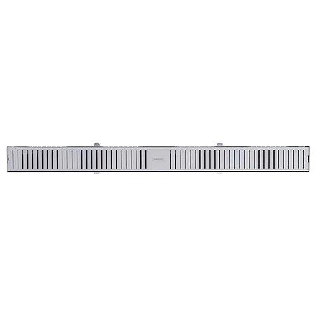 Ralo Linear Slim 10X7Cm Aço Inox Scotch Brite Tramontina 94535110