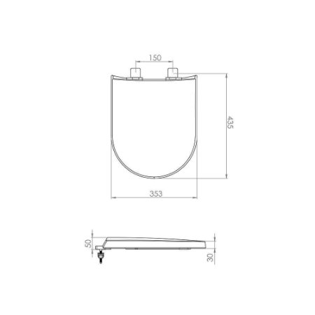 Assento Para Carrara/Duna/Nuova/Lk Branco 7150099 Lorenzetti