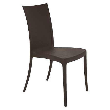 Cadeira Laura Ratan Marrom Tramontina 92032109