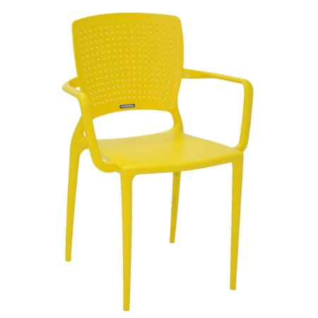 Cadeira Safira Amarela Tramontina 92049000