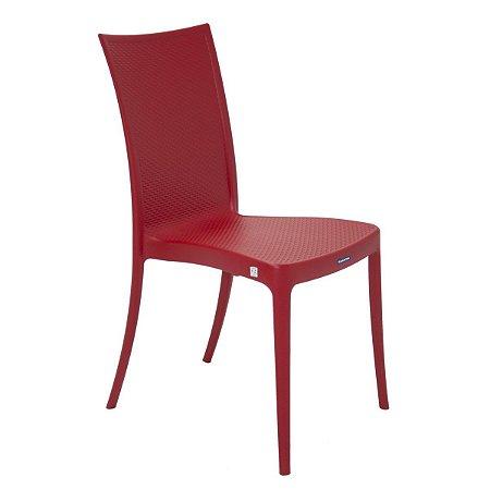 Cadeira Laura Ratan Vermelho Tramontina 92032040