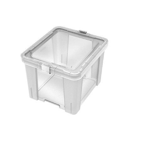 Caixa Organizadora 30L Office Transparente Tramontina 92551011