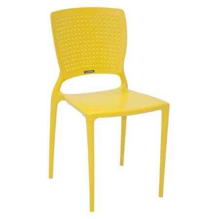 Cadeira Safira Amarela Tramontina 92048000
