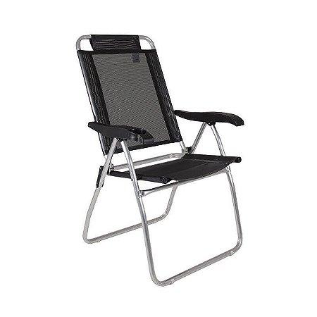 Cadeira Reclinável Boreal Preta