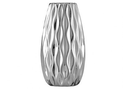 Vaso Prata Em Ceramica Mart 5631