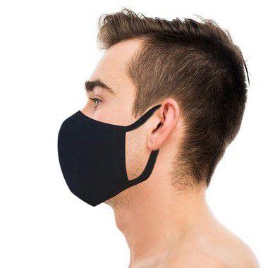 Kit 2000 Máscaras de Algodão Lavável e Reutilizáveis Proteção Contra Vírus