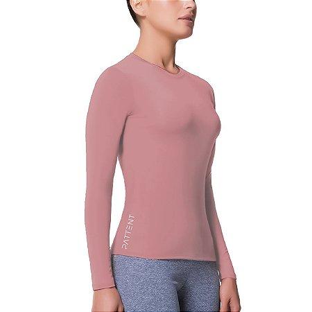 Camisa Térmica Feminina Manga Longa com Proteção Solar UV50+