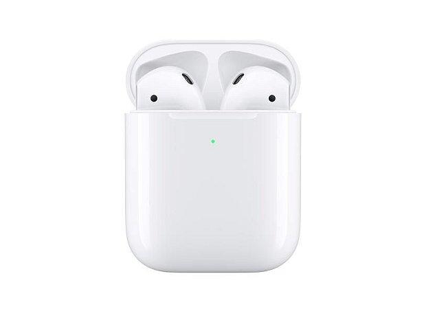 Fone de ouvido bluetooth com microfone Apple Aipords
