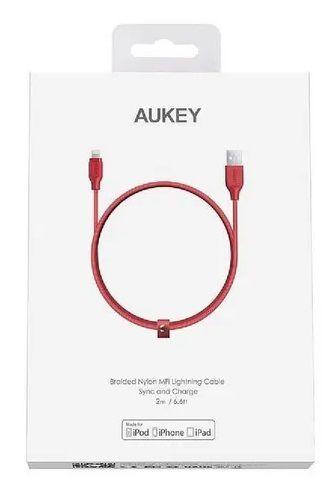 Cabo Lightning Certificado Mfi Com 2m Aukey Cb-al2