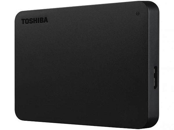 HD Externo 1TB Toshiba Canvio Basics - HDTB410XK3AA USB 3.0