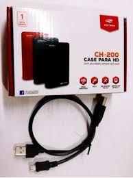 """CASE PARA HD 2.5"""" SATA USB 2.0 PRETO 480MBPS CH-200BK - C3 TECH"""