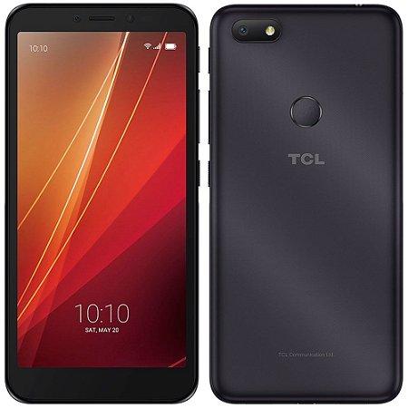 "Smartphone TCL L9 Plus, Preto, Tela 5.5"", 4G+WIFi, Android Pie, 8MP, TV Digital, Desbloqueio Facial, 32GB"
