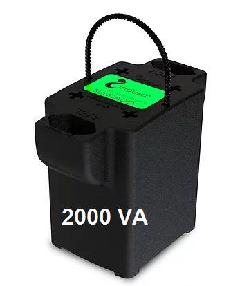 Transformador 2000VA Blindado Bivolt - Indusat