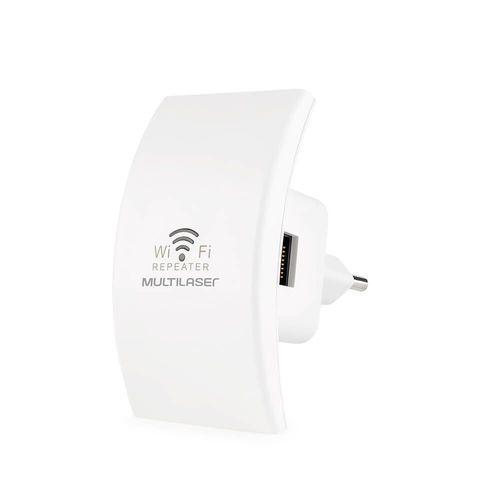 Repetidor 300Mbs com Wps branco Multilaser - RE055