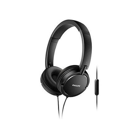 Headphone philips - cabo de 1,2 m - preto - shl5005/00