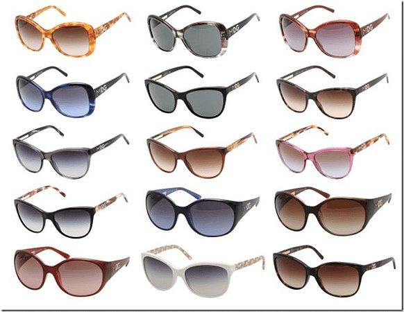 Kit 10 Óculos Femininos Diversos Modelos No Atacado
