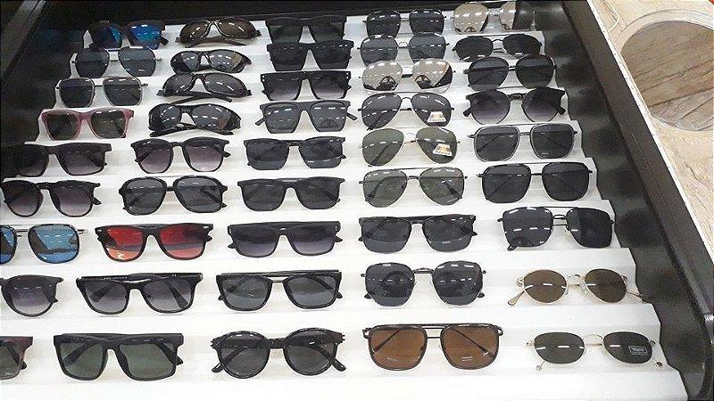 Kit 10 Óculos de Sol Masculino Diversos Modelos No Atacado