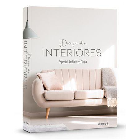 LIVRO CAIXA DESIGN DE INTERIORES AMBIENTES CLEAN