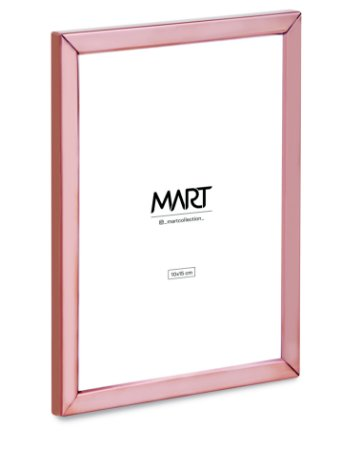 PORTA-RETRATO ROSE GOLD EM METAL - 10 x 15