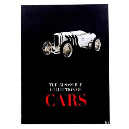 LIVRO CAIXA THE IMPOSSIBLE COLLECTION OF CARS