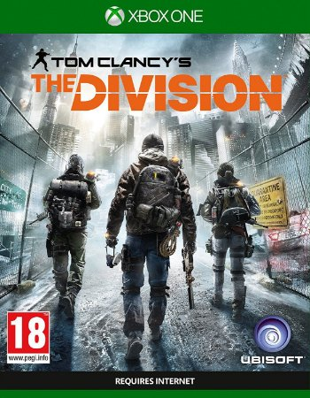 The Division Tom Clancy's - Xbox One Mídia Física Novo Lacrado