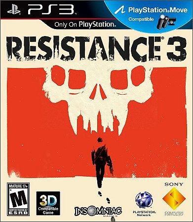 Resistence 3 PS3 Mídia Física Usado