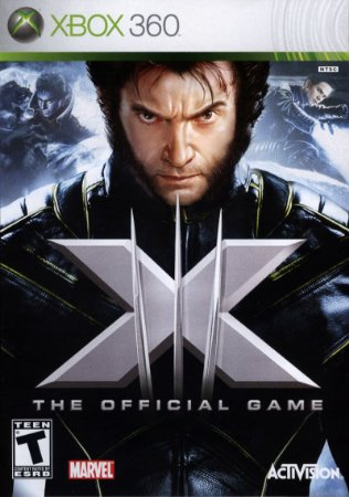 X-Men The Official Game Xbox 360 Mídia Física Usado